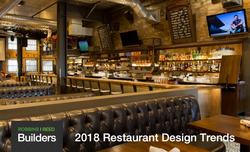 Restaurant design trends predictions for robbins reed