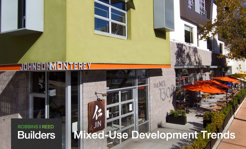 Robbins Reed Builders Modern Mixed Use Building in SLO